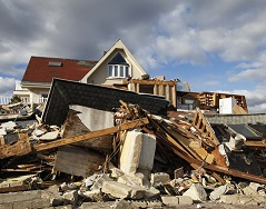 Insurance losses reflect global catastrophes.