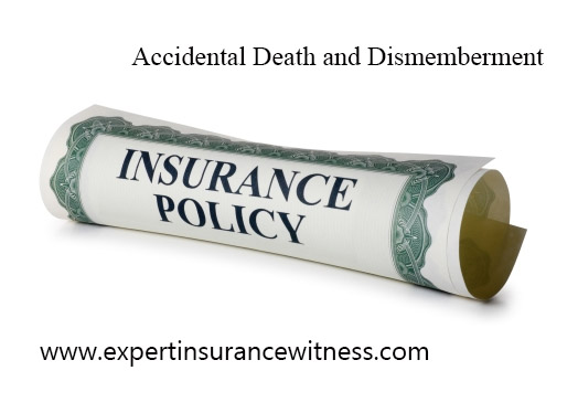 Insurance Accidental Dismemberment and Death